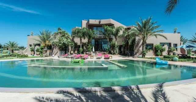 Les 25 meilleures id es de la cat gorie piscine priv e sur for Construction piscine marrakech