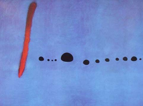 Check out Blue II by Joan Miro at New Zealand Fine Prints