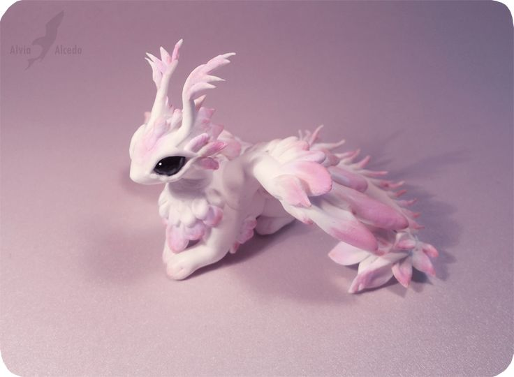 Pink moth dragon by AlviaAlcedo.deviantart.com on @deviantART