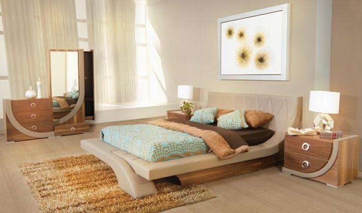 Decoraci n de interiores en recamaras por muebles for Decoracion de recamaras