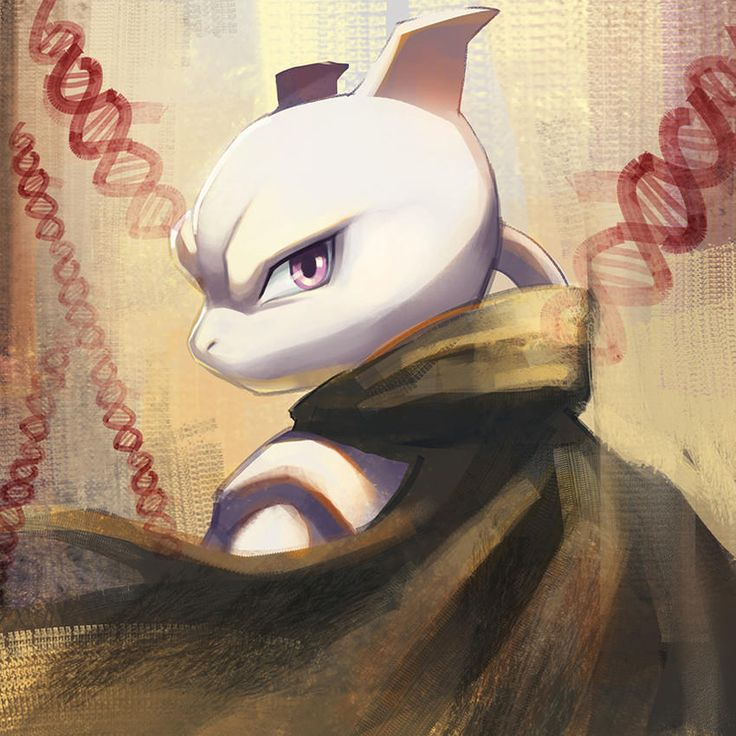 Mewtwo by elyoncat | Pokémon | Know Your Meme