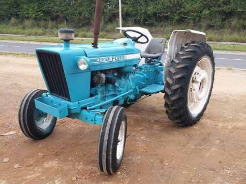 ford trator ford 4600 1985