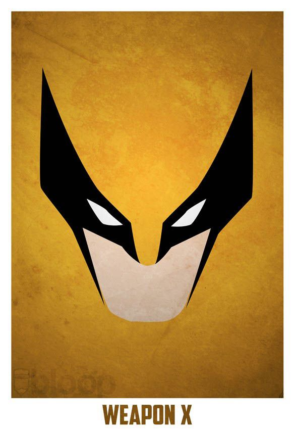 25 best ideas about superhero villains on pinterest for Minimal art hero
