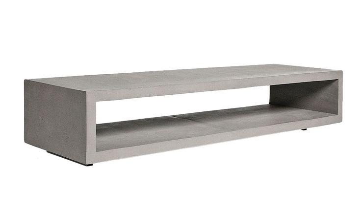 monoqi monobloc tv lowboard home pinterest tv lowboard lowboard und m bel aus beton. Black Bedroom Furniture Sets. Home Design Ideas