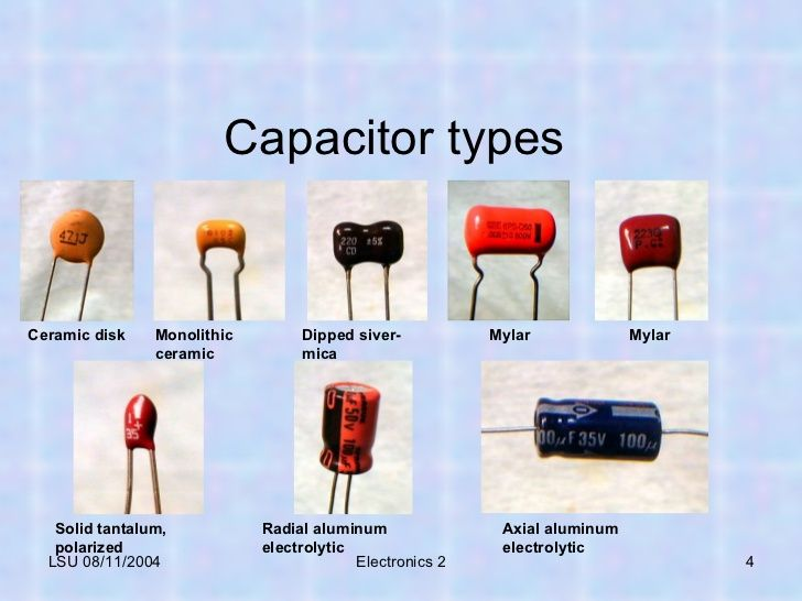 capacitor types google search electronics pinterest