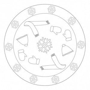 winter mandala coloring pages (1)