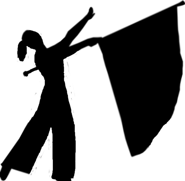 color guard silhouette 2 interesting things pinterest color guard clip art free color guard clip art silhouette