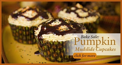 Pumpkin Mudslide Cupcakes on Paula Deen ~ Cupcake Project