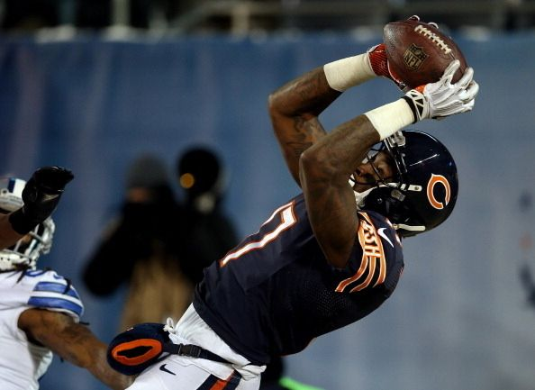 Alshon Jeffery has emerged as one of the most exciting receivers in the game. And go ahead, blame this season on the defensive injuries. That won't happen again. Fluke year. Fluke year.