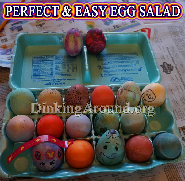Easter here! That also means... BOILED EGGS! - QUICK and EASY Egg ...