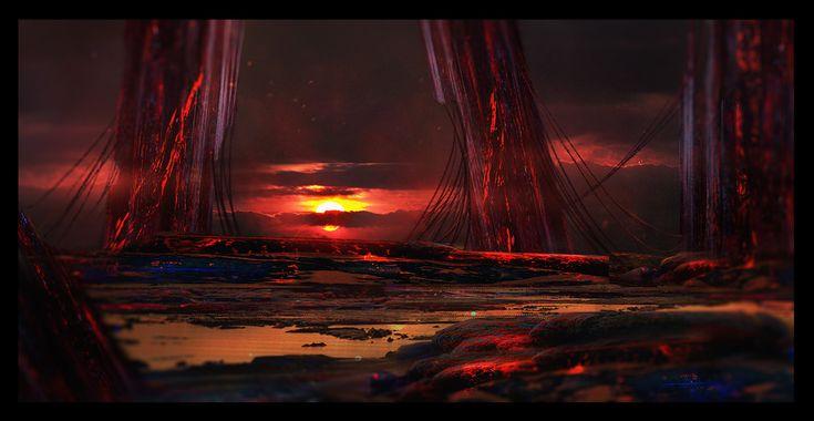 ArtStation - Red Planet, Arturas Jelesinas