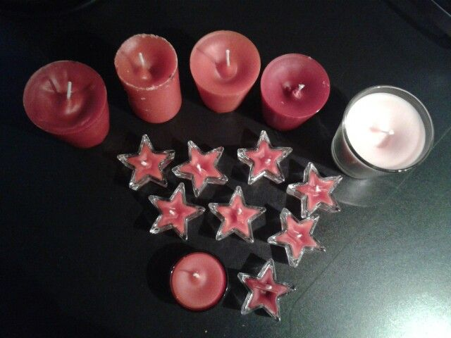Homemade candles...