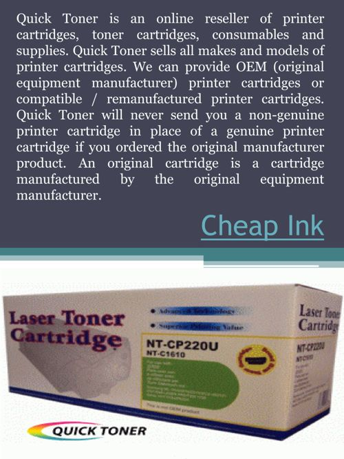 FlipSnack | Cheap Ink by Discount Toner AndInk