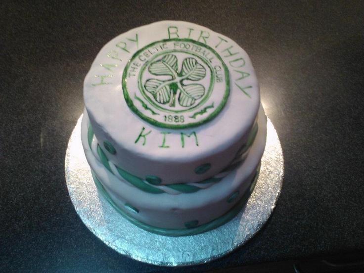 Celtic Football Club - 21st Birthday Cake - By Cakenstein Cakes