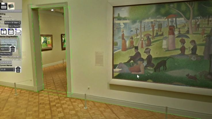 3D Reconstruction For Import Into VR using a 360 image of a room at the Chicago Institute of Art