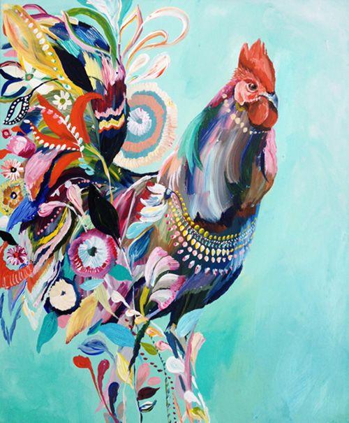 Rooster ©Starla Michelle Halfmann
