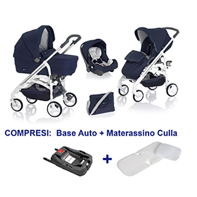 Trio Inglesina Trilogy 2014 Marina su Telaio Bianco Manico Unito+Base Auto+Materassino Navicella a 699 €!! http://www.lachiocciolababy.it/bambino/marina_su_telaio_bianco_manico_unito+base_auto+materassino_navicella-6631.htm