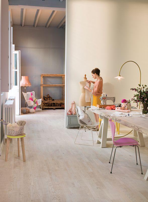 Beautiful white washed floors #ChoicesFlooringMackay #InspiringChoices