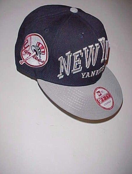 3a06369d71543 ... promo code for new york yankees team logo mlb al adult unisex navy blue  gray cap
