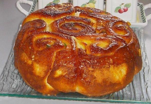 Cozonac rosenkranz - Cu aroma de nuca si cuisoare