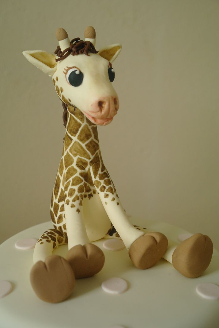 fondant giraffes | fondant giraffe - Cake Decorating Community - Cakes We Bake
