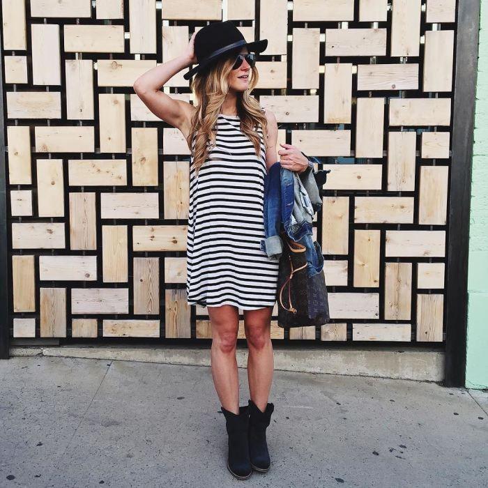 Sleeveless Swing Dress for under $45 • BrightonTheDay