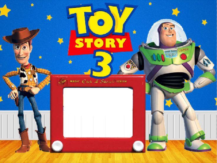 Marco de Foto Toy Story 3