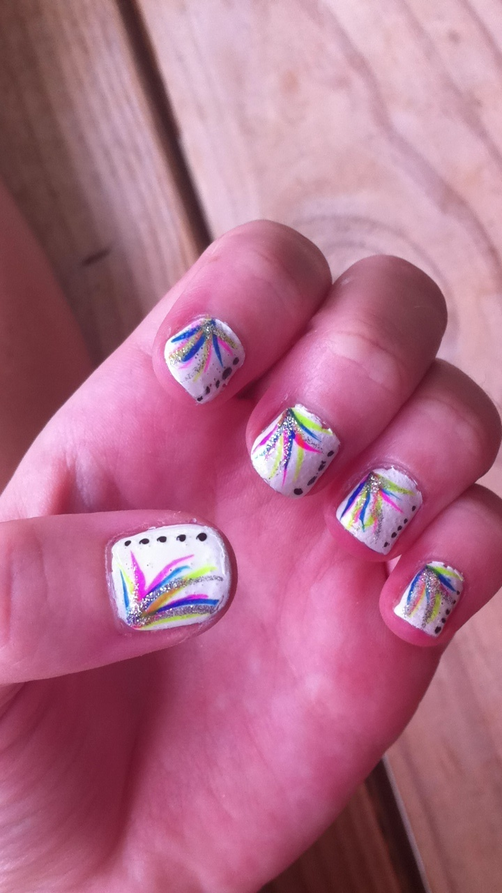 20 Best Tie Dye Nails Images On Pinterest