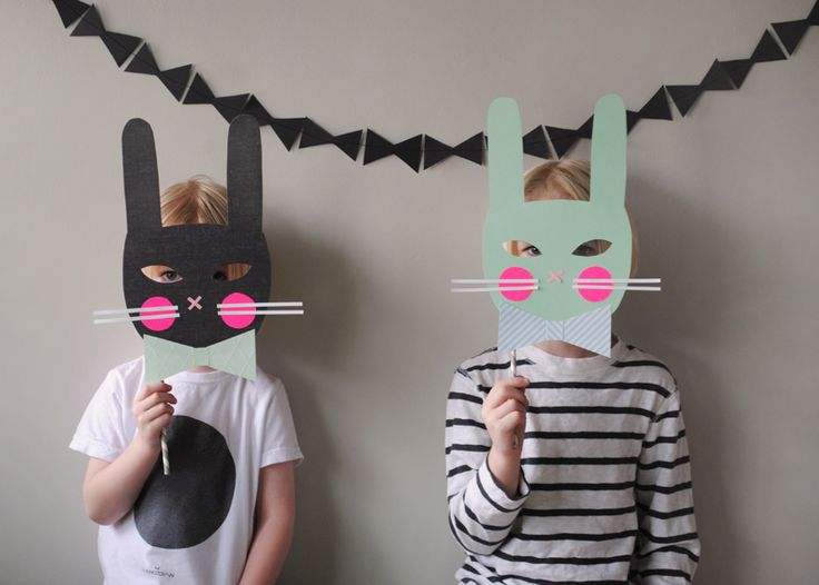Masques de lapin !!