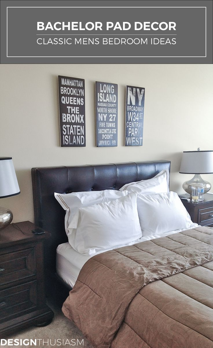Man Bedroom Decor 17 Best Ideas About Mans Bedroom On Pinterest Men Bedroom