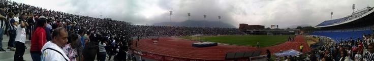 Maury Piñón nos mandó esta imagen del entrenamiento de hoy en el Estadio Tec
