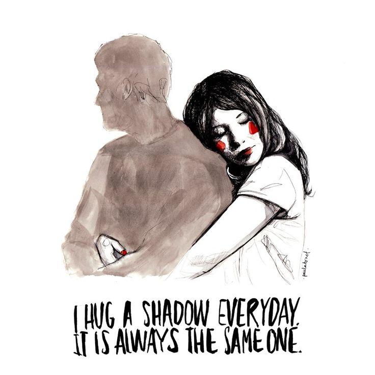 Hug shadow - Paula Bonet Shop