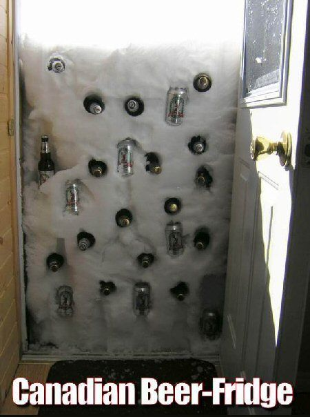 Beer storage in Canada