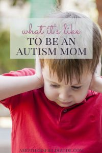 Having a son diagnosed with autism was something that I never thought I would experience. Read to see what it's like for me to be an autism mom.