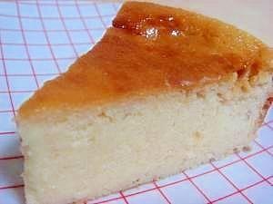「ヘルシー簡単♪おからヨーグルトケーキ」混ぜるだけ!油なしだけどヨーグルト使用でし~っとり!これチーズケーキ?オカラどこ~?って感じの低カロリー・ヘルシーケーキです。【楽天レシピ】