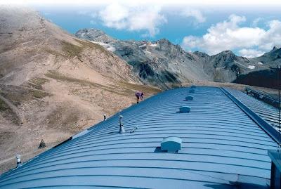 aluminiu Falzonal pentru acoperisuri