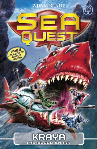 Deep in the water lurks a new breed of Beast.    Max is about to face the most awesome Robobeast - Kraya the Blood Shark. He must also confront the evil force that has created these deadly creatures, and uncover dark secrets about his family. Max is pushed to the limits of fear at the climax of his Sea Quest!    Dive into Sea Quest and live the adventure!