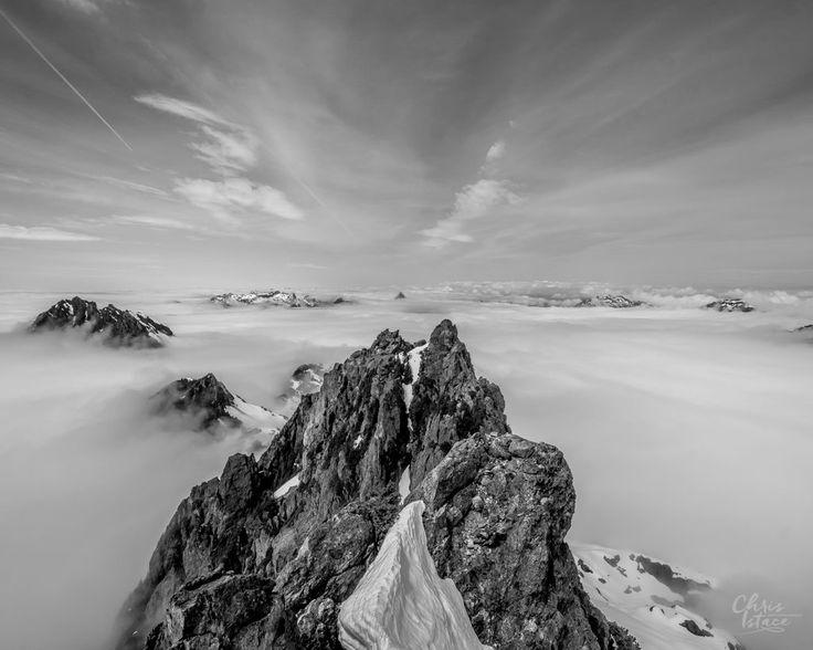 Vancouver Island Triple Peak - summit climbing trip