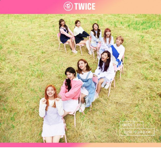 TWICE flash pretty smiles in new group teaser image for comeback! | allkpop.com