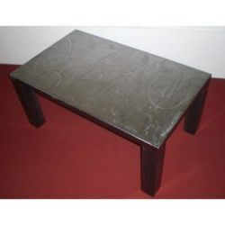 Table wrought iron. cm 50 x 75 x h 45 . 695