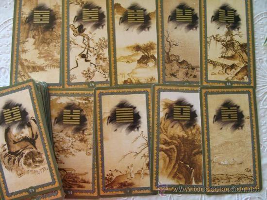 Barajas de cartas: BARAJA DEL ORÁCULOS. ORÁCULO / TAROT I CHING. CHINO / CHINÉS. AÑO 2002. GRAN FORMATO ORBIS. - Foto 3 - 21720033