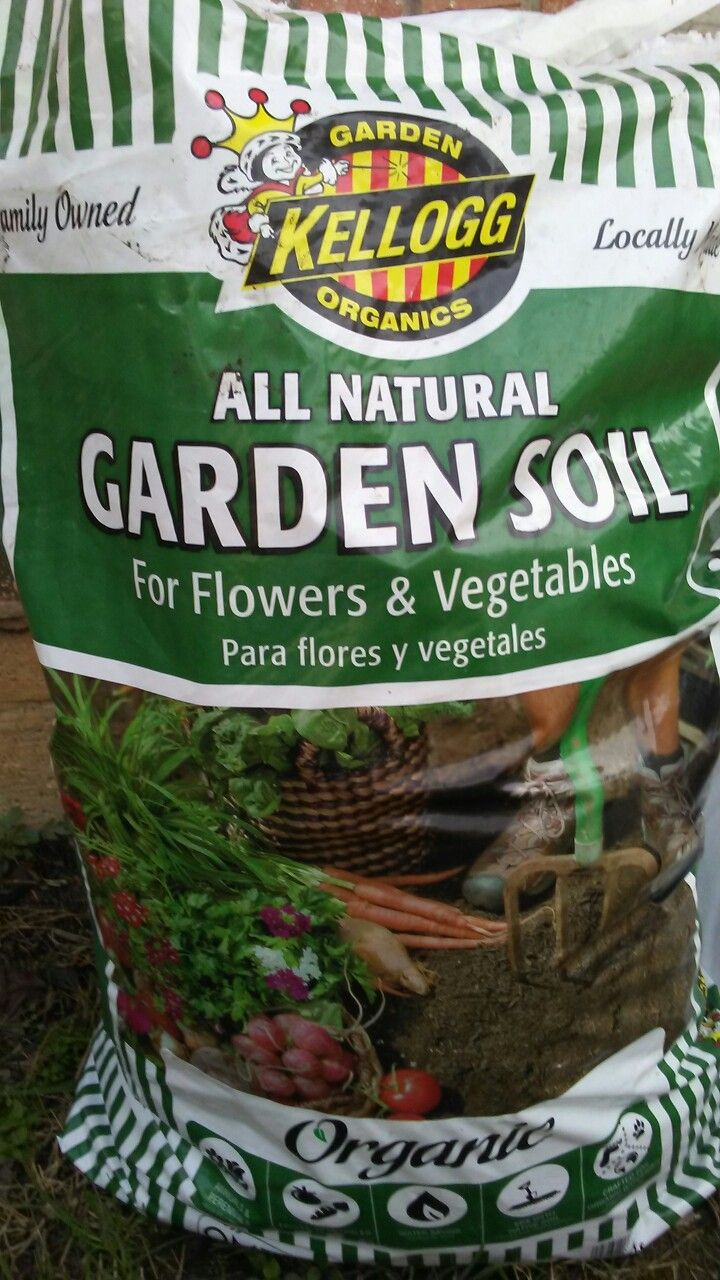 I chose this organic garden soil from Home Depot and it