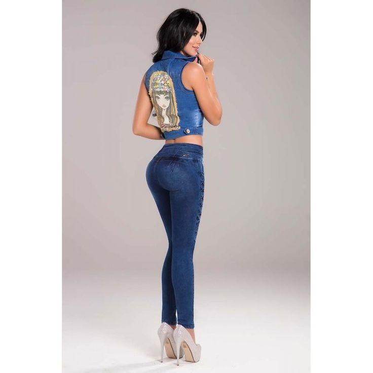 Ropa Colombiana Jeans Levantacola Susan