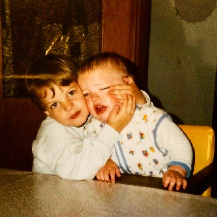 Happy birthday to my big little brother! @domt1