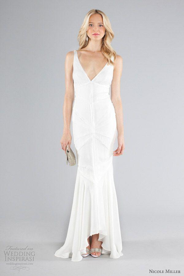 Nicole miller bridal dresses images