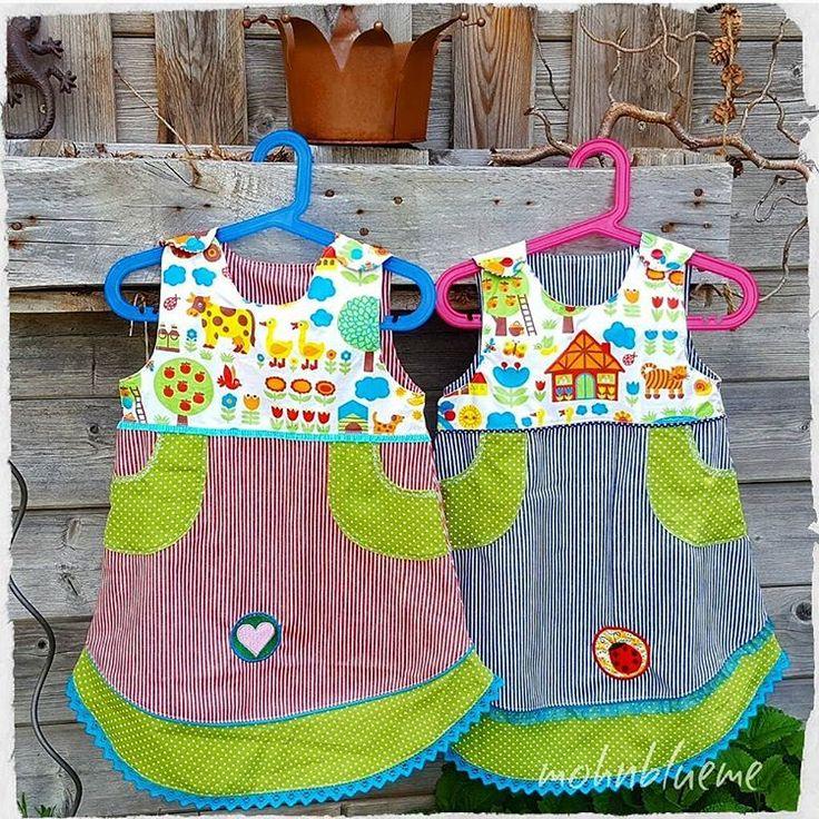 Einen herrlichen Sommertag wünsche ich Euch ☀️ Ich sollte schnell den Pool aufstellen 🤣👍 Fridakleider für zwei kleine Cousinen 🤗😍 Geniesst den heissen Tag 🤸♂️ #fridakleid #milchmonster #milchmonsterfridakleid #nähenanstellehaushalt #sewingforkids #sewingforgirl #kidsclothes #kleid #dress #stoff #stuff #bygraziela @bygraziela #sticken #blau #rot #gestreift #goodmorning #gutenmorgen #mittwoch #wednesday #summer #summerday #inmygarden #inmeinemgarten