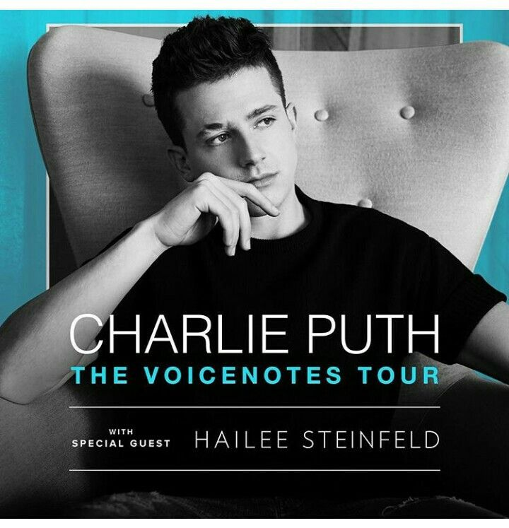Voice Notes Tour 2018 Charlie Puth Charlie Puth Tour Charlie