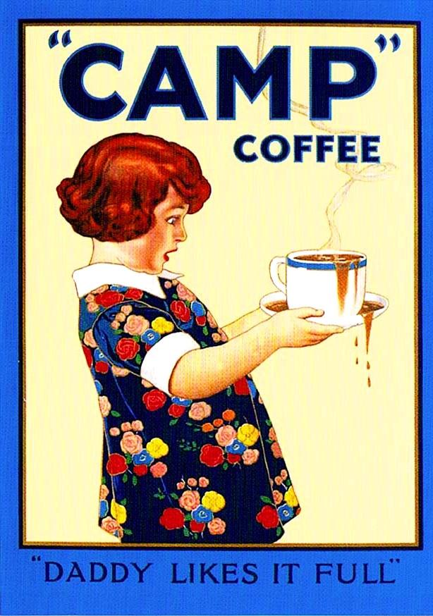 Camp coffee ad