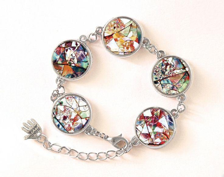 Bracelet Stained Glas, 0116BOS from EgginEgg by DaWanda.com