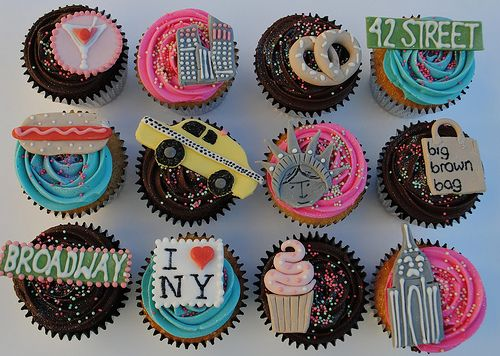 New York City Icon Cupcakes - @Monica Smith